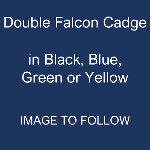 Double Falcon Cadge: Coloured