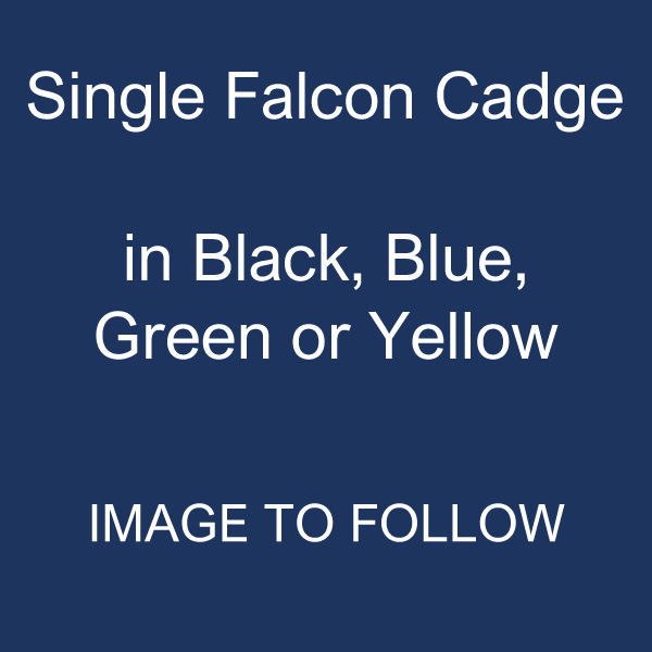Single Falcon Cadge: Coloured