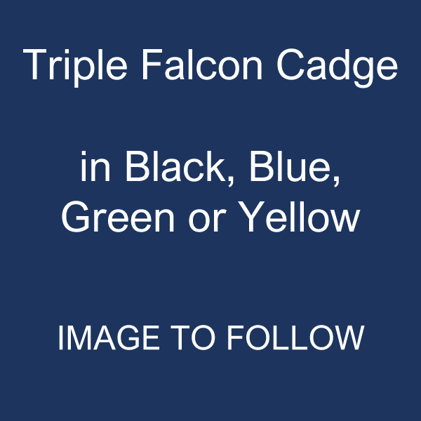 Triple Falcon Cadge: Coloured